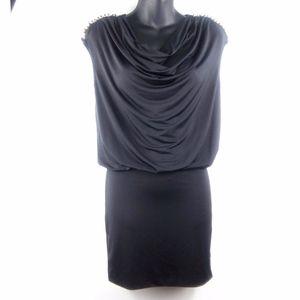 Forever 21 Studded  Little Black Dress Sz S